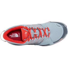 The North Face W's Hedgehog Fastpack Lite II GTX Shoes High Rise Grey/Fire Brick Red